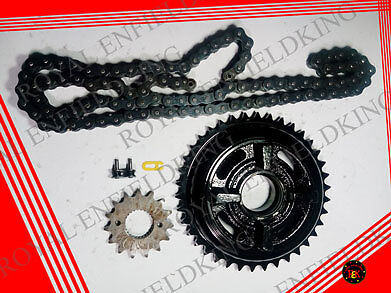 Brand-New-Genuine-Royal-Enfield-Chain-Sprocket-Kit Uc Classic Best Quality