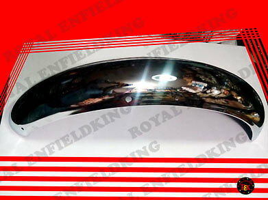 Royal Enfield FRONT MUDGUARD CROME NEW MODEL500CC