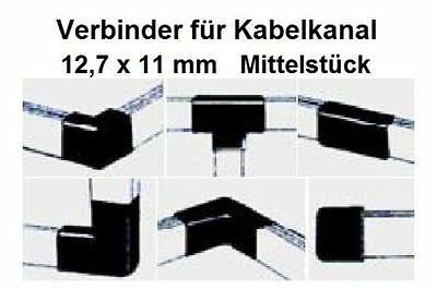 Connector Centerpiece for Cable Channel 12, 7x11mm/Please Colour Select