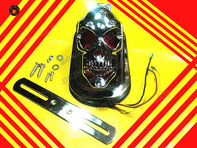 Royal Enfield Skull Tail Light Back Light Brand New Motorcycle
