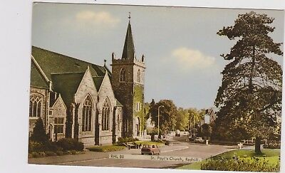 Redhill St Pauls Church Col Ppc Pu Frith