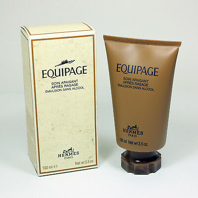 HERMES EQUIPAGE SOIN APAISANT APRES RASAGE POUR HOMME, AFTER SHAVE MEN 100ml