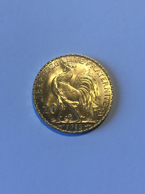 piece 20 franc or 1913 sup