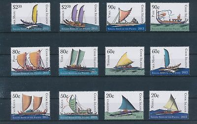 LH23441 Cook Islands boats sailing ships fine lot MNH