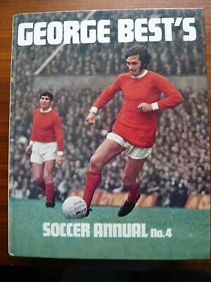 George Best Soccer Annual Number 4- 1971