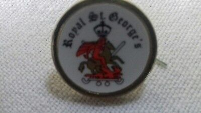 Royal St Georges  Golf Club Ball Marker