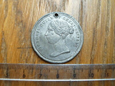 Queen Victoria Wolverhampton 1866 Medal, Inauguration Of Prince Albert Statue