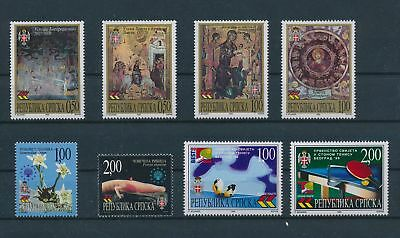 LH23666 Serbia nice lot of good stamps MNH