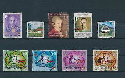 LH23674 Serbia nice lot of good stamps MNH