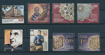 LH23682 Serbia nice lot of good stamps MNH