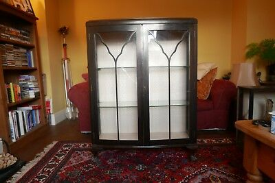 Late Victorian/ Edwardian (?) Display Cabinet  - Mahogany