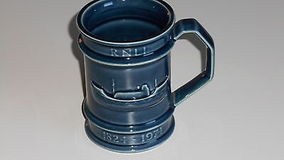 Holkham Pottery China Ceramic mug tankard 11cm high RNLI LIFEBOAT CHARITY