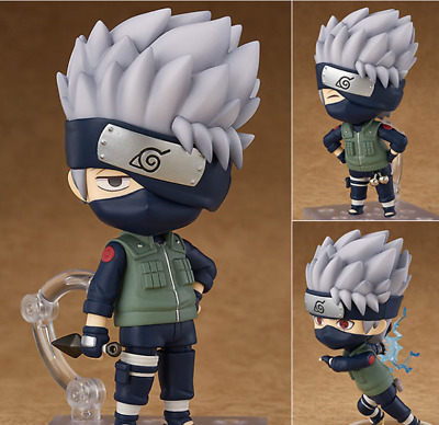 Anime Naruto Hatake Kakashi Cute PVC Figure Action Toy Model Cosplay Collection