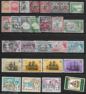 Bermuda A Selection Of (28) Stamps