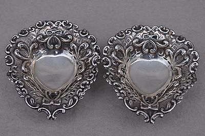 Pair of silver nice quality C19th BonBon Dishes