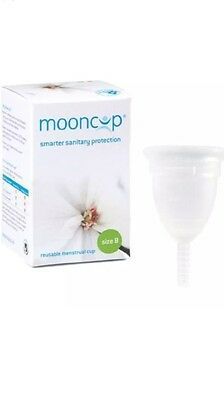 Mooncup Reusable Menstrual Cup Size B- Smarter Sanitary Protection