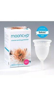 Mooncup Reusable Menstrual Cup Size A- Smarter Sanitary Protection