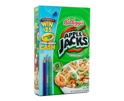 Kellogg's Apple Jacks Cereal 345g