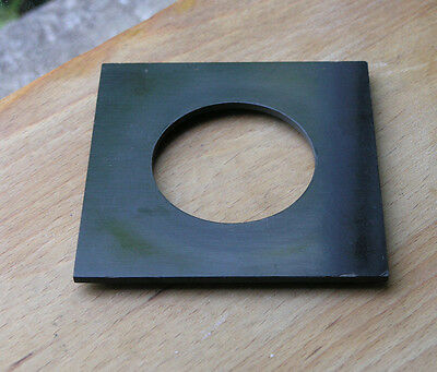 MPP mk 7 VII fit  lens board old compur 2 compound shutters 56.5mm hole