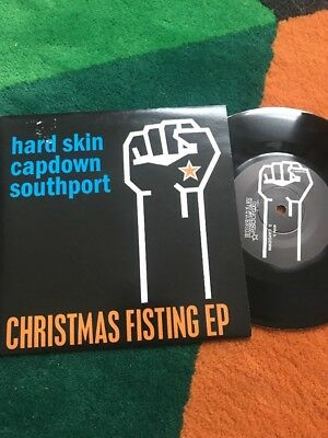 """Hard Skin / Capdown / Southport 7"""" Christmas Fisting"""