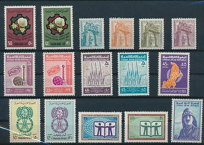 LH24297 Syria nice lot of good stamps MNH