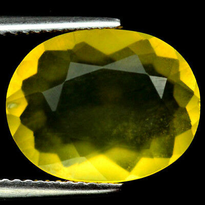 4.09 Ct Natural! Yellow Mexican Opal Oval
