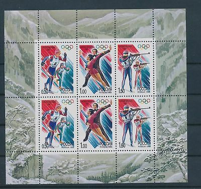 LH24420 Russia 1996 sports olympic games good sheet MNH