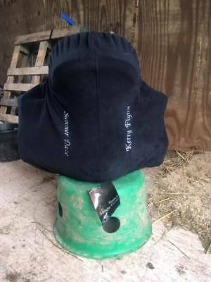 Personalised, Embroidered, Fleece Saddle Cover
