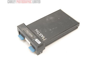 Polaroid 4×5 550 Back with Part Used Film (550). Condition – 5E [6235]