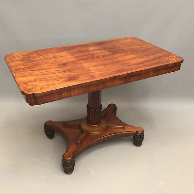 Regency Rosewood Centre Table a14936