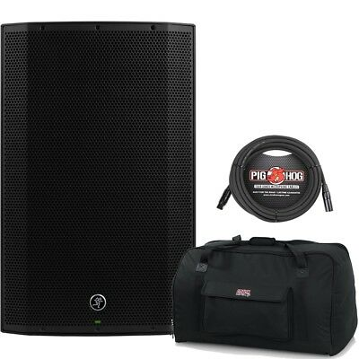 Mackie Thump TH-15A 1300W Powered Speaker with Gator Bag + XLR Cable