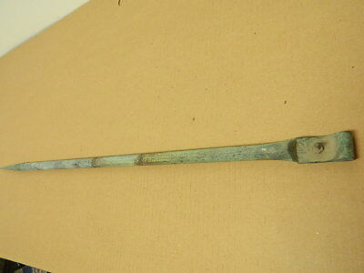 "Original Vintage Antique Copper 28"" Lightning Rod Farm Barn"