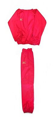mizuno Sauna suit Prize fighter specifications Red x gold logo