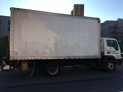 2008 International CF500 diesel 16FT box with liftgate, 210K, runs perfectly.
