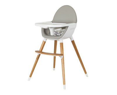 Childcare Bebe Care Pod Timber Highchair - Natural