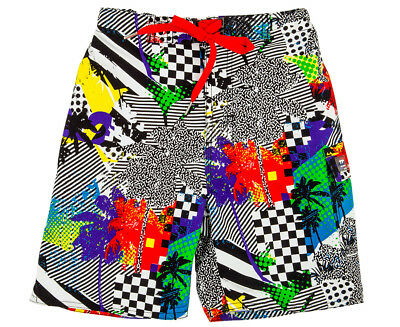 WaveRat Junior Boys' 90's Palm Boardshort - Multi