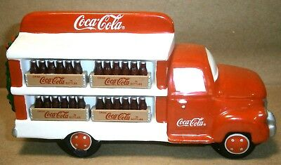 Dept 56 Ceramic Coca Cola Delivery Truck