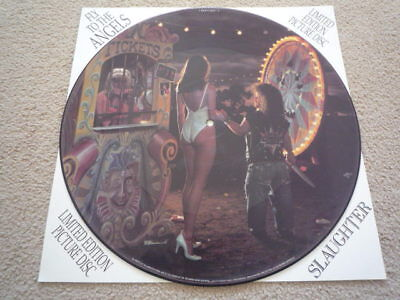 """Slaughter """"fly To The Angels"""" 12"""" Ltd Edition Picture Disc Exc/cond."""