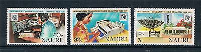 Nauru 1978 Int.Radio Commitee SG 208/10 MNH