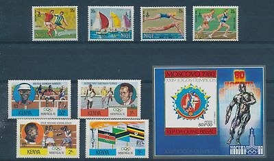 LH24954 World athletics sports olympic games fine lot MNH