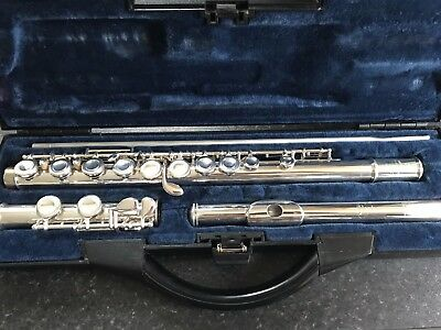 Buffet Crampon BC6020 Flute **Solid Silver Head**