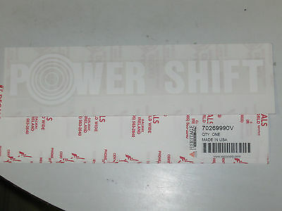 Allis Chalmers 70269990 Power Shift Decal 7020 7040 7060 7045 8010 8030 8050