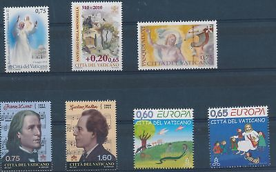 LH25022 Vatican nice lot of good stamps MNH