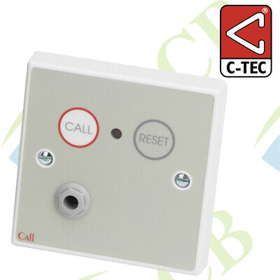 C-Tec Nc802Dm Standard Calls/reset Point, Magnetic Reset Emergency Panic