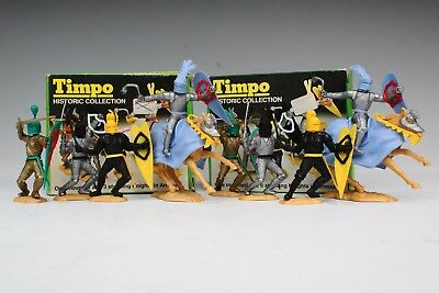 TIMPO HISTORIC COLLECTION PICTURE BOX KNIGHTS MOUNTED & STANDING 2 x BOXES...!!