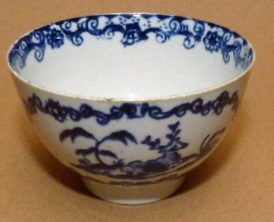 A Penningtons Liverpool Blue And White Teabowl