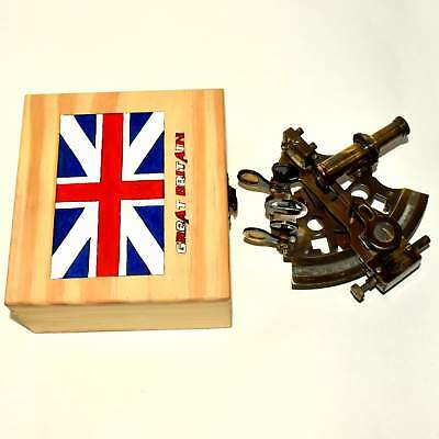 Big Vintage Retro Nautical Camera Reproduction Home Replica Clock Wooden*