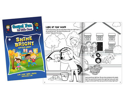Let Your Light Shine Activity Book