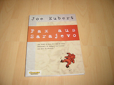 Joe Kubert - Fax aus Sarajevo - Graphic Novel - Comic Album - Carlsen Verlag