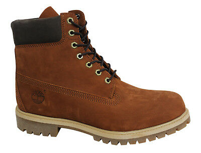 INCH Mens Premium Up Brown TIMBERLAND 6 Leather Lace Suede rCeWoBdx